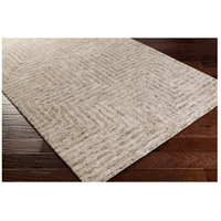 Surya FLC8000-576 Falcon 90 X 60 inch Neutral and Neutral Area Rug, Viscose and Wool alternative photo thumbnail