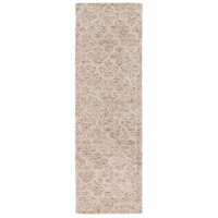 Surya FLC8001-268 Falcon 96 X 30 inch Neutral and Neutral Runner, Viscose and Wool photo thumbnail