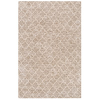 Surya FLC8001-46 Falcon 72 X 48 inch Neutral and Neutral Area Rug, Viscose and Wool photo thumbnail