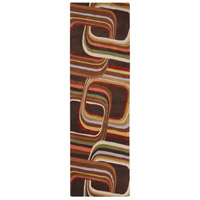 Surya FM7007-268 Forum 96 X 30 inch Brown and Brown Runner, Wool photo thumbnail
