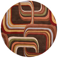 Surya FM7007-6RD Forum 72 inch Brown and Brown Area Rug, Wool photo thumbnail