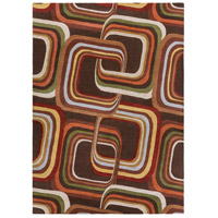 Surya FM7007-811 Forum 132 X 96 inch Brown and Brown Area Rug, Wool photo thumbnail