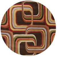 Surya FM7007-4RD Forum 48 inch Brown and Brown Area Rug, Wool photo thumbnail