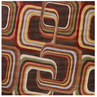 Surya FM7007-6SQ Forum 72 X 72 inch Brown and Brown Area Rug, Wool photo thumbnail