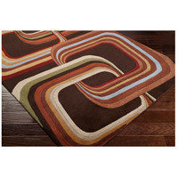 Surya FM7007-4RD Forum 48 inch Brown and Brown Area Rug, Wool alternative photo thumbnail