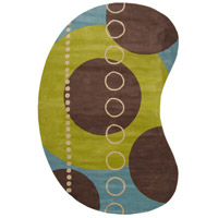 Surya FM7013-69KDNY Forum 108 X 72 inch Green and Blue Area Rug, Wool photo thumbnail