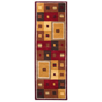 Surya FM7014-312 Forum 144 X 36 inch Brown and Brown Runner, Wool photo thumbnail