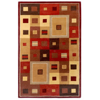 Surya FM7014-46 Forum 72 X 48 inch Brown and Brown Area Rug, Wool photo thumbnail