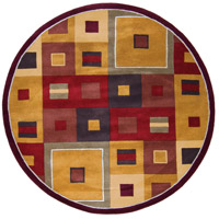 Surya FM7014-6RD Forum 72 inch Brown and Brown Area Rug, Wool photo thumbnail