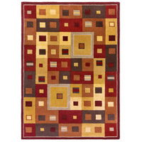 Surya FM7014-811 Forum 132 X 96 inch Brown and Brown Area Rug, Wool photo thumbnail
