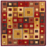 Surya FM7014-8SQ Forum 96 X 96 inch Brown and Brown Area Rug, Wool photo thumbnail