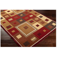 Surya FM7014-811 Forum 132 X 96 inch Brown and Brown Area Rug, Wool alternative photo thumbnail