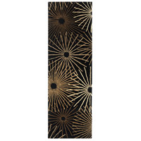 Surya FM7090-312 Forum 144 X 36 inch Black and Brown Runner, Wool photo thumbnail