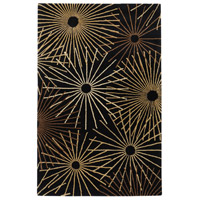 Surya FM7090-46 Forum 72 X 48 inch Black and Brown Area Rug, Wool photo thumbnail