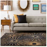 Surya FM7090-8SQ Forum 96 X 96 inch Black and Brown Area Rug, Wool alternative photo thumbnail