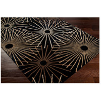 Surya FM7090-46 Forum 72 X 48 inch Black and Brown Area Rug, Wool alternative photo thumbnail