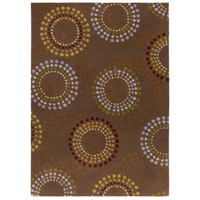 Surya FM7107-811 Forum 132 X 96 inch Brown and Red Area Rug, Wool photo thumbnail