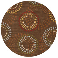 Surya FM7107-99RD Forum 117 inch Brown and Red Area Rug, Wool photo thumbnail