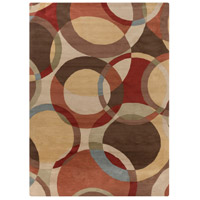 Surya FM7108-1014 Forum 168 X 120 inch Brown and Brown Area Rug, Wool photo thumbnail