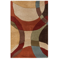 Surya FM7108-23 Forum 36 X 24 inch Brown and Brown Area Rug, Wool photo thumbnail