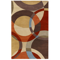 Surya FM7108-69 Forum 108 X 72 inch Brown and Brown Area Rug, Wool photo thumbnail