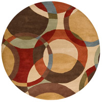 Surya FM7108-6RD Forum 72 inch Brown and Brown Area Rug, Wool photo thumbnail