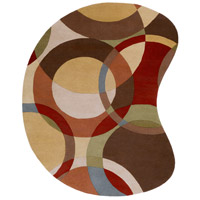 Surya FM7108-810KDNY Forum 120 X 96 inch Brown and Brown Area Rug, Wool photo thumbnail