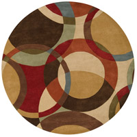 Surya FM7108-4RD Forum 48 inch Brown and Brown Area Rug, Wool photo thumbnail