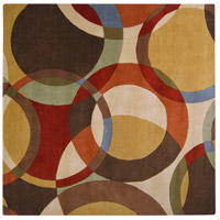 Surya FM7108-99SQ Forum 117 X 117 inch Brown and Brown Area Rug, Wool photo thumbnail