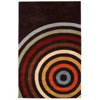 Surya FM7138-23 Forum 36 X 24 inch Brown and Orange Area Rug, Wool photo thumbnail