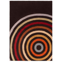 Surya FM7138-811 Forum 132 X 96 inch Brown and Orange Area Rug, Wool photo thumbnail
