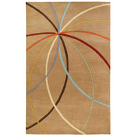 Surya FM7140-7696 Forum 114 X 90 inch Brown and Brown Area Rug, Wool photo thumbnail
