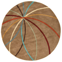 Surya FM7140-6RD Forum 72 inch Brown and Brown Area Rug, Wool photo thumbnail