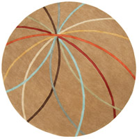 Surya FM7140-4RD Forum 48 inch Brown and Brown Area Rug, Wool photo thumbnail