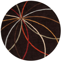 Surya FM7141-4RD Forum 48 inch Brown Area Rug, Wool photo thumbnail