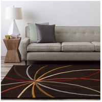Surya FM7141-4RD Forum 48 inch Brown Area Rug, Wool alternative photo thumbnail
