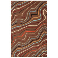 Surya FM7155-69 Forum 108 X 72 inch Red and Brown Area Rug, Wool photo thumbnail