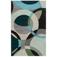 Surya FM7157-1014 Forum 168 X 120 inch Green and Neutral Area Rug, Wool photo thumbnail