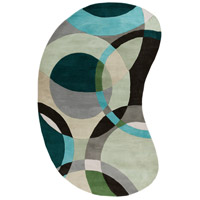 Surya FM7157-69KDNY Forum 108 X 72 inch Green and Neutral Area Rug, Wool photo thumbnail