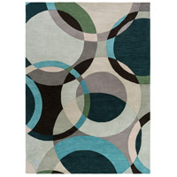 Surya FM7157-811 Forum 132 X 96 inch Green and Neutral Area Rug, Wool photo thumbnail