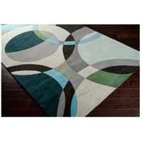 Surya FM7157-1014 Forum 168 X 120 inch Green and Neutral Area Rug, Wool alternative photo thumbnail