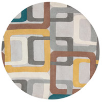 Surya FM7159-6RD Forum 72 inch Green and Gray Area Rug, Wool photo thumbnail