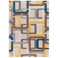 Surya FM7159-811 Forum 132 X 96 inch Green and Gray Area Rug, Wool photo thumbnail