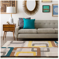 Surya FM7159-6SQ Forum 72 X 72 inch Green and Gray Area Rug, Wool alternative photo thumbnail