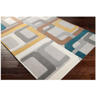 Surya FM7159-6RD Forum 72 inch Green and Gray Area Rug, Wool alternative photo thumbnail