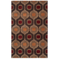 Surya FM7170-69 Forum 108 X 72 inch Brown and Brown Area Rug, Wool photo thumbnail