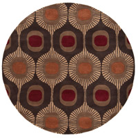 Surya FM7170-6RD Forum 72 inch Brown and Brown Area Rug, Wool photo thumbnail