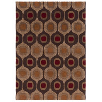 Surya FM7170-811 Forum 132 X 96 inch Brown and Brown Area Rug, Wool photo thumbnail