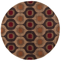 Surya FM7170-8RD Forum 96 inch Brown and Brown Area Rug, Wool photo thumbnail