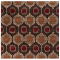 Surya FM7170-6SQ Forum 72 X 72 inch Brown and Brown Area Rug, Wool photo thumbnail